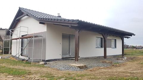 Výstavba RD 100 m², pozemek 617 m²